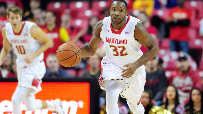 Maryland guard Dez Wells in December of 2013.