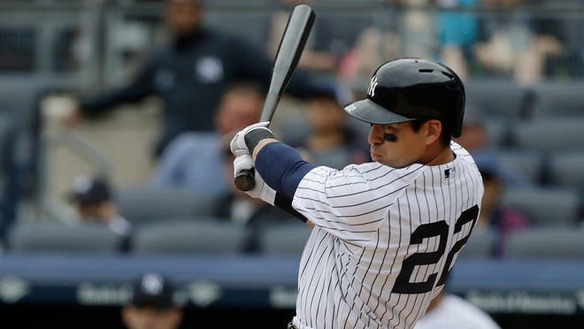 The Yankees' Jacoby Ellsbury was scheduled to sit out on Monday to rest a sore hip, but with the rainout he might not miss a game.