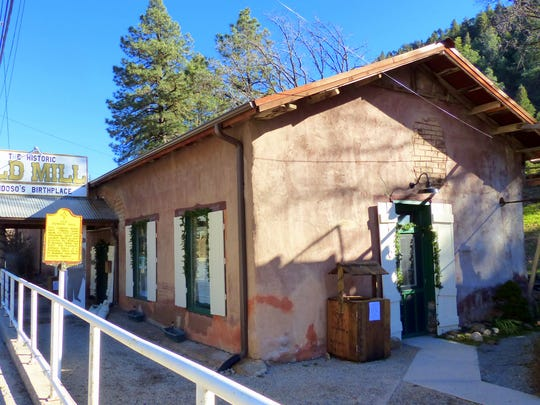 Still standing, but in need of more repairs, the Old Mill is Ruidoso's oldest structure.