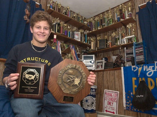TROY NICKERSON: Five-time New York State high school