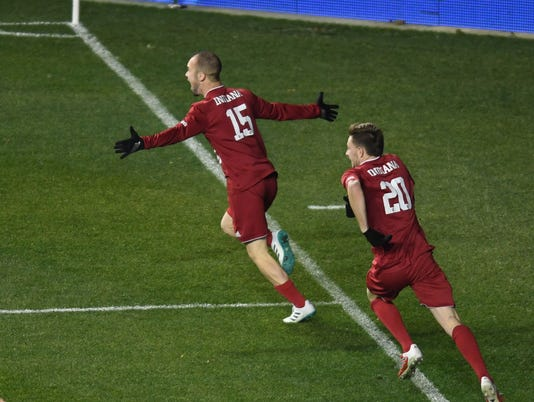 NCAA Soccer: College Cup-North Carolina vs Indiana
