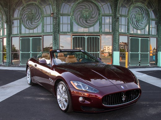 Luxury cars make dashing entrance at the S