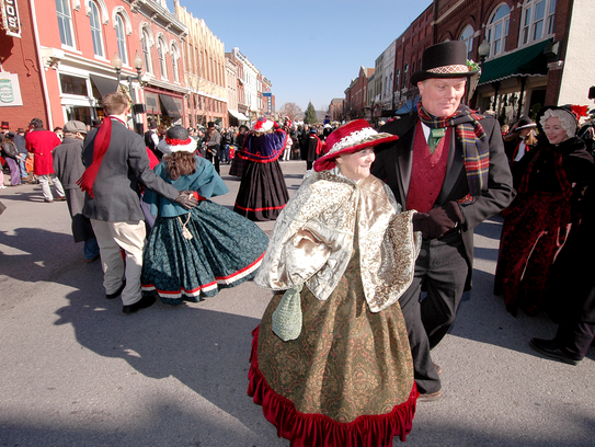 Flat Creek Dancers at Dickens of a Christmas.