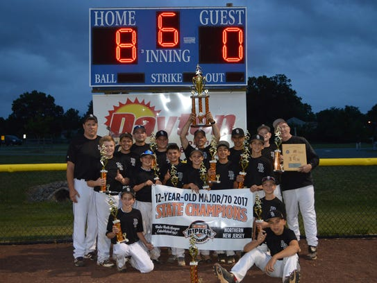 The 12U Bridgewater Panthers captured the N. Jersey