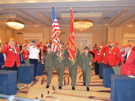 The Young Marines of The Palm Beaches presented the