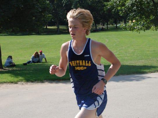 Ethan Monson-Dupuis was a standout distance runner