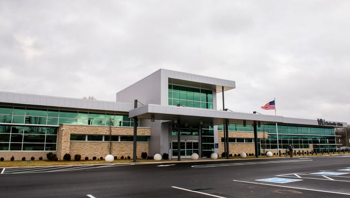 The new Clarksville VA Clinic on Weatherly Drive.