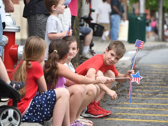Scenes from the City of Beacon's Memorial Day parade.