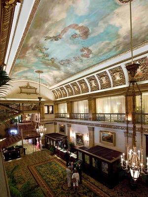 The Pfister Hotel has afternoon tea three days a week.