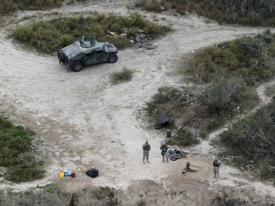 National Guard Patrol Texas Border