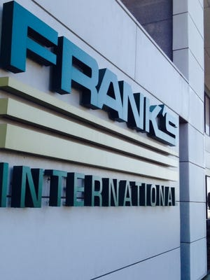 Frank's International acquired Blackhawk on Friday, a $321 million deal.