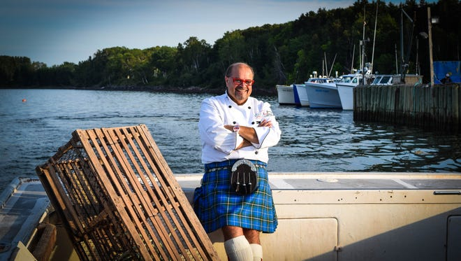 In Nova Scotia Alain Bosse is known as The Kilted Chef.