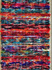 Nancie Ferguson's weavings are functional and consist