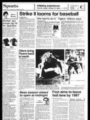 BC Sports History - week of May 21, 1985