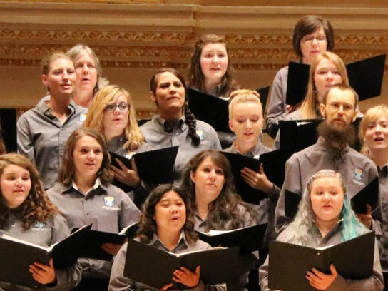 The Great Falls College Community Choir has sung at Carnegie Hall and performs for the public in Great Falls.