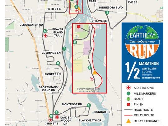 The SCHEELS Half Marathon begins at 8:30 a.m. Saturday,
