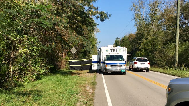 The Tennessee Bureau of Investigation was called to the scene of a body found in the trunk of a burned car on River Road in Cheatham County.