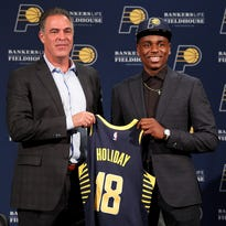 Insider: Aaron Holiday didn't expect to be there for Pacers but 'it ended up working out'