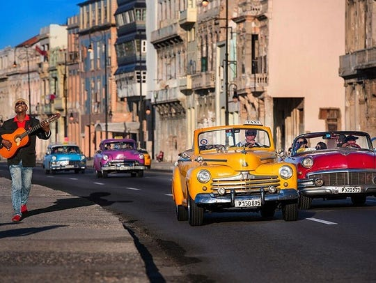Experience the vintage charm of Cuba's streets.