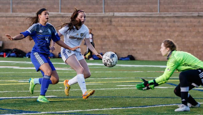 Catholic Memorial goalie Lili Berg was named first-team All State.