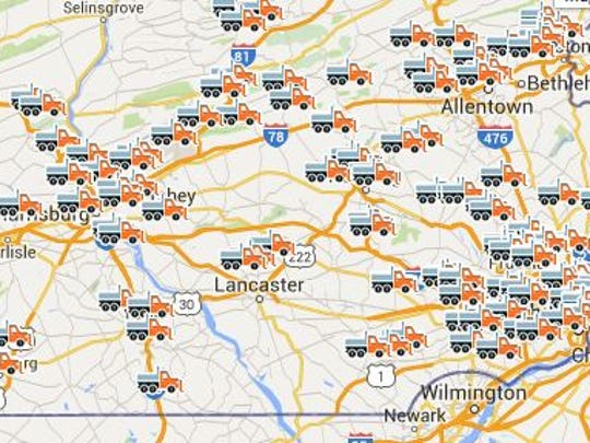 That's a lot of snow plows.