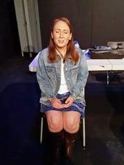 Gina Zenyuch of Nutley in a scene from Blackbird.