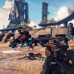 An in-game image from 'Destiny'.