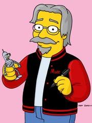 'The Simpsons' creator Matt Groening played 'Futurama'