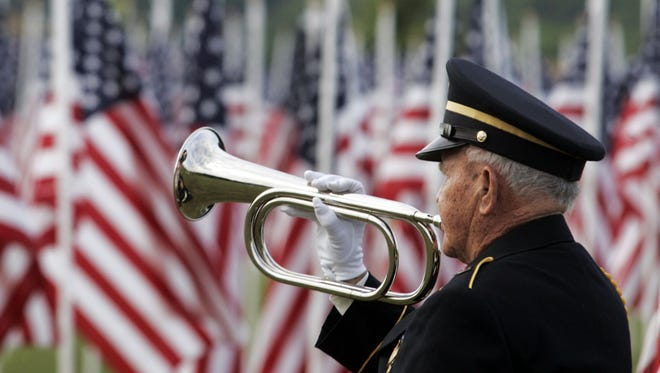 A new monument dedicated to the U.S. flag will be installed during Monday's ceremony at Sumner County Veterans Park.