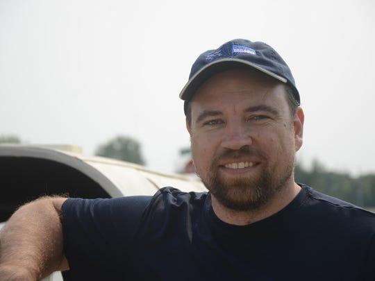 Matt Bousselot of Marion, Iowa.