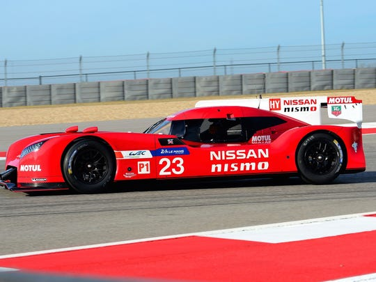 Nissan's revolutionary GT-R LM NISMO racer will compete in the Le Mans 24..
