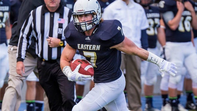 Jace Billingsley earned All-America at Eastern Oregon while setting a handful of school records.