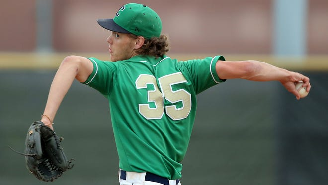 Cathedral pitcher Ashe Russell is projected as a first-round pick in the upcoming MLB draft.