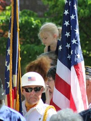 Marion County residents young and old attended the Memorial Day parade and ceremony on Monday.