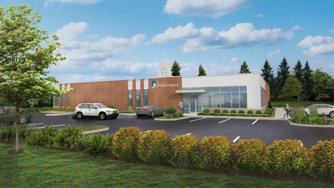 This is a rendering of the medical building planned in Springfield Township by Christ Hospital.