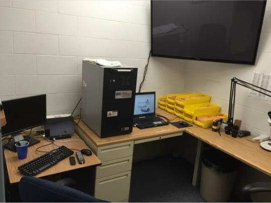 The Cincinnati Police Department is using a NIBIN machine