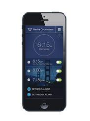 The Sleep Genius mobile app uses specially designed