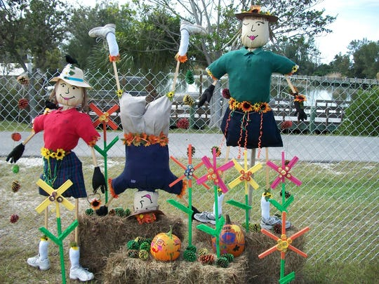 """Scarecrows in the Park,"" a display at Lakes Regional Park that runs through Halloween, is part of Southwest Florida's fall fun. It starts Oct. 16."