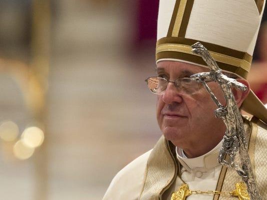 AP APTOPIX VATICAN POPE ABORTION I VAT