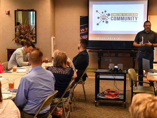 David Cook, chariman of the board for the North Texas Area United Way, talks about the organization's new branding and logo and changes to the application process for agency funding.