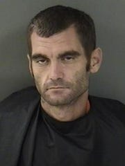 """James Dean Threadgill, 32, of Indian River County, was arrested Oct. 20 and charged with three counts of felony grand theft auto, one count of felony grand theft and one count of felony burglary of an occupied dwelling. Deputies said Threadgill is being investigated as a """"suspected participant"""" in more than 100 reported burglaries since Sept. 1."""