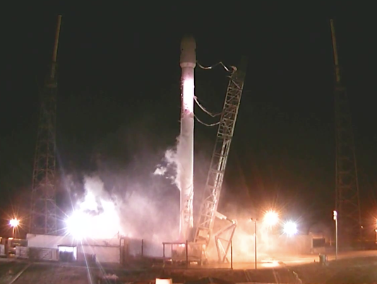 SpaceX rocket launch aborted on launchpad, just seconds before liftoff