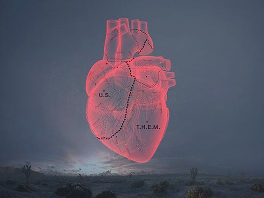 An image from Alejandro Inarritu's conceptual virtual-reality