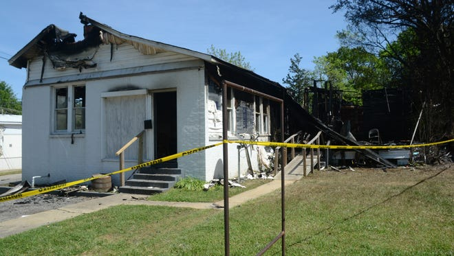 An unidentified man died early Saturday in a house fire on Main Street in Pineville, according to Pineville's interim fire chief.