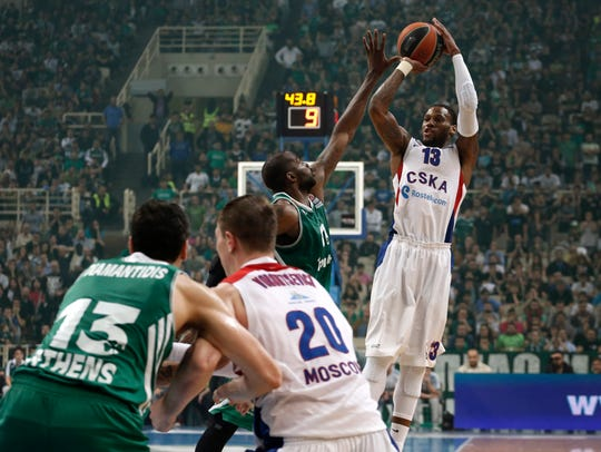 Sonny Weems was thriving in Russia the past three years.