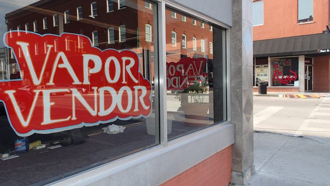 Sean Matar plans to open Vapor Vendor at 330 South Ave., just across the street from his father Riad Matar's restaurant business.