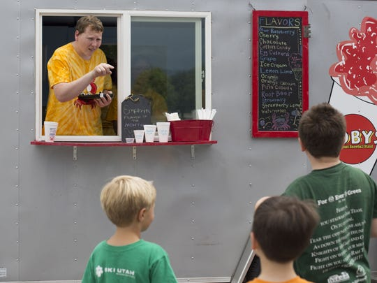 Koby's East Coast Snowball Stand is one of several
