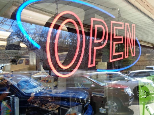 A first sign of spring in Loveland is this one: The Loveland Dairy Whip is open and serving ice cream.
