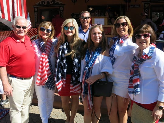 The Shreveport contingent at Vail America Days Parade,