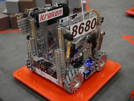 A Kraken Pinion robot.